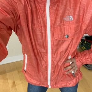 The North Face Windbreaker with ruffles